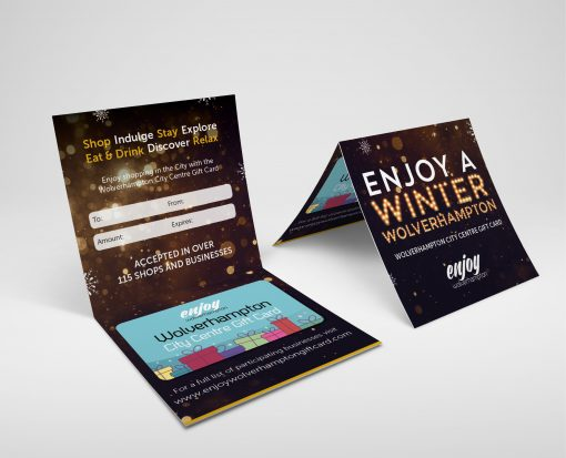 Enjoy Wolverhampton - Christmas Gift Card